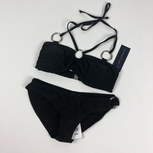 French Connection | 2pc Halter Bandeau Ring Bikini